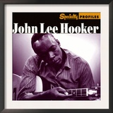 John Lee Hooker, Specialty Profiles Print