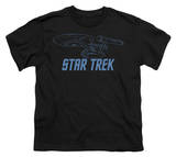 Youth: Star Trek-Enterprise Outline Shirts