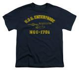 Youth: Star Trek-Enterprise Athletic T-shirts