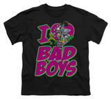Youth: DC-I Heart Bad Boys T-shirts