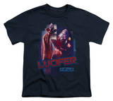 Youth: Battle Star Gallactica-Lucifer T-Shirt