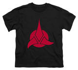 Youth: Star Trek-Klingon Logo Shirt