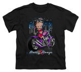 Youth: Betty Boop-City Chopper T-shirts