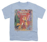 Youth: Dragon's Lair-Distressed Poster T-shirts