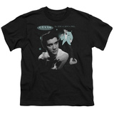 Youth: Elvis-Teal Portrait T-shirts