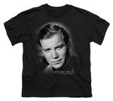 Youth: Star Trek-Captain Kirk Portrait T-shirts