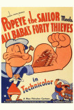 Popeye the Sailor Meets Ali Baba and the Forty Thieves Prints