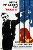 Bullitt - German Style Poster
