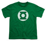 Youth: DC-Green Lantern Logo T-Shirt