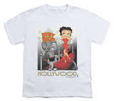 Youth: Betty Boop-Hollywood T-shirts