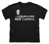 Youth: Battle Star Galactica-I Survived New Caprica T-Shirt