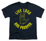 Youth: Star Trek-Live Long Hand T-shirts