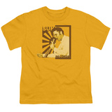 Youth: Sun Records-Sun Records Elvis On The Mic T-Shirt
