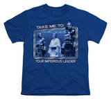 Youth: Battle Star Galactica-Take Me T-shirts