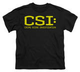 Youth: CSI-Logo T-shirts