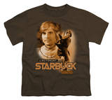 Youth: Battle Star Galactica-Starbuck T-shirts