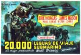 20000 Lieues sous les mers Affiches