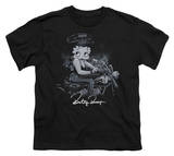 Youth: Betty Boop-Storm Rider T-shirts