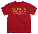Youth: DC-Wonder Woman Logo T-shirts