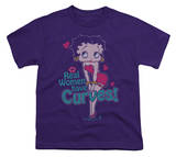 Youth: Betty Boop-Curves Shirts