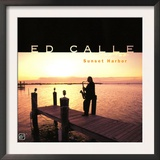 Ed Calle - Sunset Harbor Art