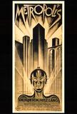 Metropolis (filmový plakát vněmčině) Plakát