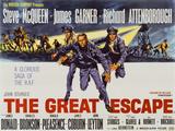 Den stora flykten Poster