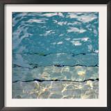 Pool Reflections II Print by Nicole Katano