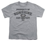 Youth: Taxi-Property Of Sunshine Cab T-shirts