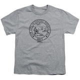 Youth: Parks & Rec-Pawnee Seal Shirts