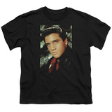 Youth: Elvis-Red Scarf T-shirts