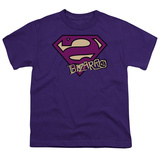 Youth: Superman-Bizarro Shield T-shirts