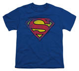 Youth: Superman-Destroyed Supes Logo T-shirts