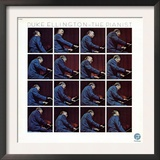Duke Ellington - The Pianist Print