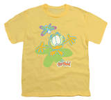 Youth: Garfield - Butterfly T-Shirt