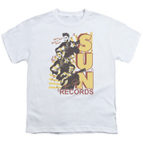 Youth: Sun Records-Tri Elvis T-Shirt
