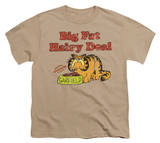 Youth: Garfield - Big Fat Hairy Deal T-shirts