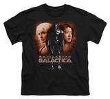 Youth: Battle Star Galactica-Created By Man Shirts