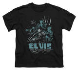 Youth: Elvis - 68 Leather T-Shirt