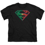 Youth: Superman-Portugal Shield T-shirts