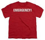 Youth: Emergency-Logo T-Shirt