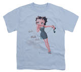 Youth: Betty Boop-Blah Blah Blah T-shirts