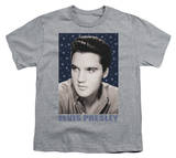 Youth: Elvis-Blue Sparkle T-shirts