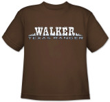 Youth: Walker Texas Ranger-Walker Logo Shirts