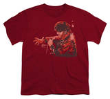 Youth: Elvis-Red Comback T-shirts