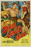Bomba and the Jungle Girl Print