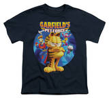 Youth: Garfield - Dvd Art T-shirts
