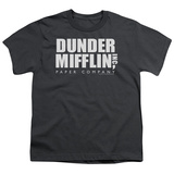 Youth: The Office-Dunder Mifflin Logo Shirts