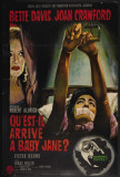 Whatever Happened to Baby Jane - French Style Affiches