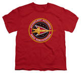 Youth: Star Trek-Red Squadron Shirts